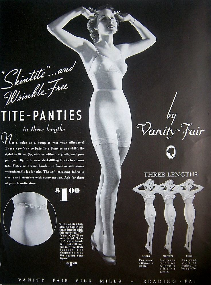 vanity fair lingerie 1935