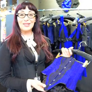 In Memory of Velda Lauder: A Video of One of Her Last Corset Collections