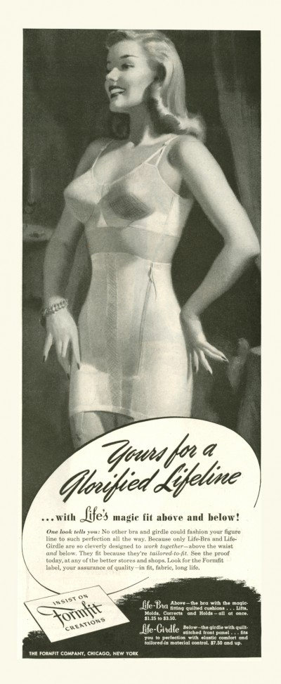 1947 Formfit advertisement via flickr.