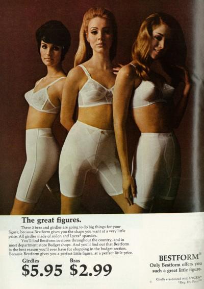 1968 Bestform advertisement, via flickr. https://www.flickr.com/groups/vintage_lingerie/
