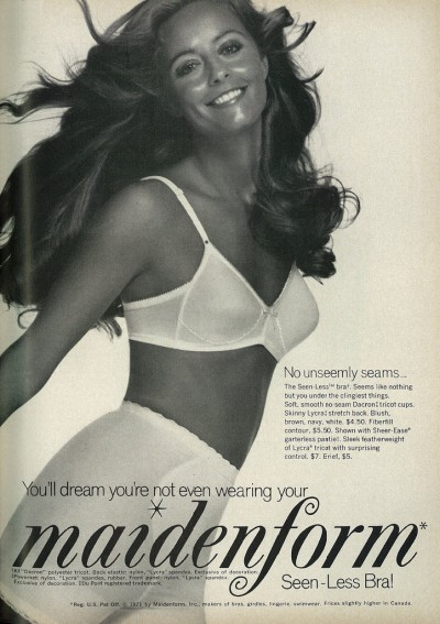 1971 Maidenform advertisement, via flickr.