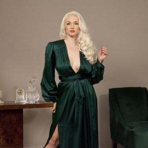 Lingerie Wishlist: Emerald & Palm Dressing Gown