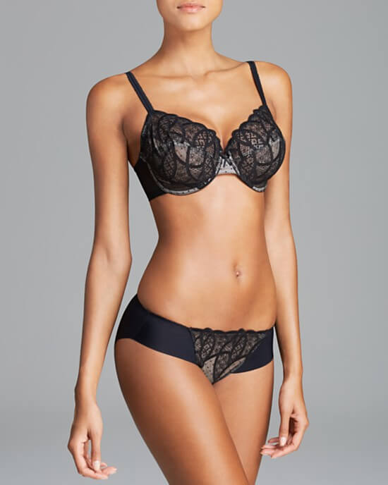 Wacoal Simply Sultry Unlined Bra & Hipster - $93