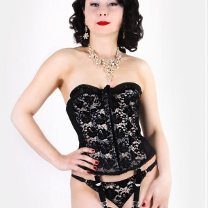 Lingerie of the Week: What Katie Did Gwendoline Merry Widow