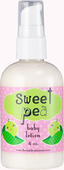 Sweet Pea Baby Lotion